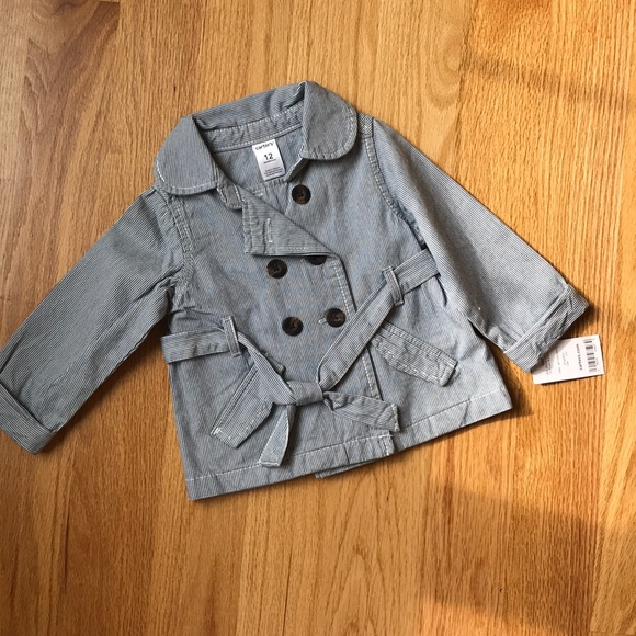 Carter's Other - Little girl pinstripe jacket
